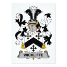 Wickliffe Family Crest Card