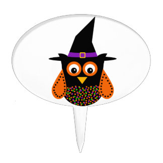 Wicky the Adorable Witch Cake Toppers
