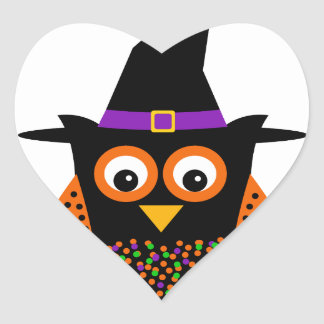 Wicky the Adorable Witch Heart Sticker