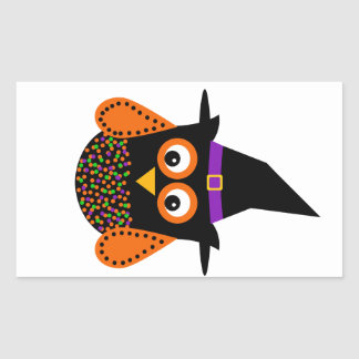 Wicky the Adorable Witch Rectangular Sticker