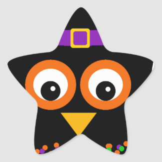 Wicky the Adorable Witch Star Sticker