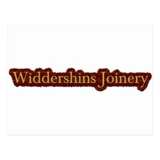 Widdershins Slab Logo Postcard