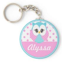 Widdle Owl Customized Keychain