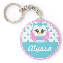 Widdle Owl Customized Keychain 2
