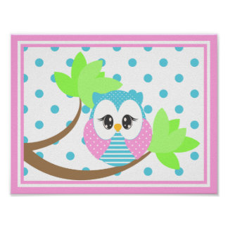 Widdle Owl Print 2