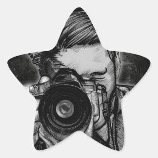 Wide Angle Lens Star Sticker