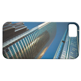 Wide-angle shot looking up at gleaming glass iPhone SE/5/5s case
