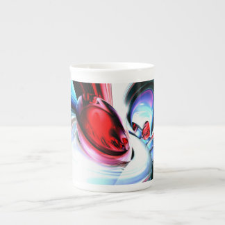 Wide Awake Abstract Tea Cup