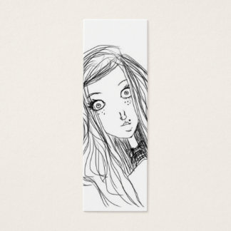 Wide Awake BOOKMARK Mini Business Card