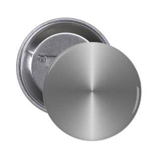 wide circular steel 2 inch round button