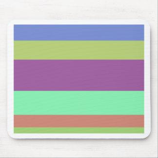 Wide Color Stripes Mouse Pad