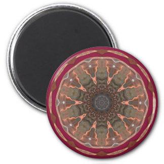 Wide Eyed 2 Inch Round Magnet