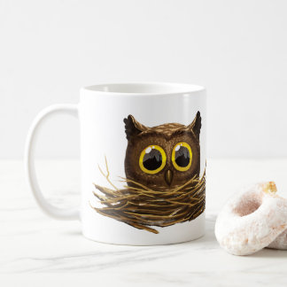 Wide Eyed Owl I'm Awake Mug
