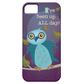 Wide-eyed Owl in Moonlight iPhone 5/5S Case