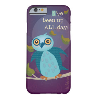 Wide-eyed Owl in Moonlight iPhone 6 Case