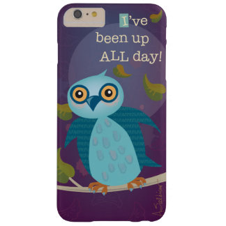 Wide-Eyed Owl in Moonlight iPhone 6 Plus Case
