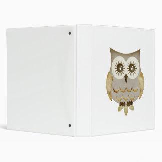 Wide Eyes Owl Binder