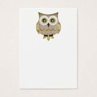 Wide Eyes Owl Business Card