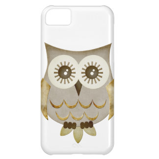 Wide Eyes Owl Case Case For iPhone 5C