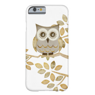 Wide Eyes Owl in Tree Barely There iPhone 6 Case