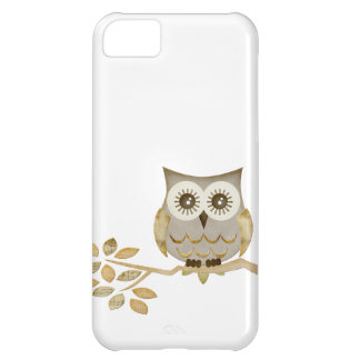 Wide Eyes Owl in Tree Case Cover For iPhone 5C