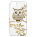Wide Eyes Owl in Tree Case iPhone 5C Case