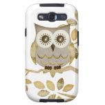 Wide Eyes Owl in Tree Galaxy S3 Case