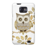 Wide Eyes Owl in Tree Galaxy SII Covers