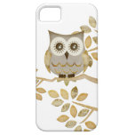 Wide Eyes Owl in Tree iPhone 5 Cover