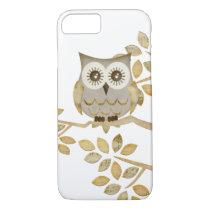 Wide Eyes Owl in Tree iPhone 8/7 Case