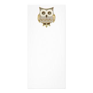 Wide Eyes Owl Rack Card