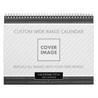 Wide Family Photo 2019 Calendar Custom Backgrounds