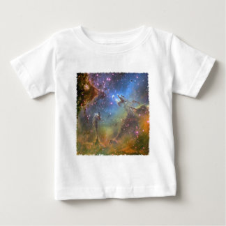 Wide-Field Image of the Eagle Nebula Baby T-Shirt