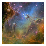 Wide-Field Image of the Eagle Nebula Print
