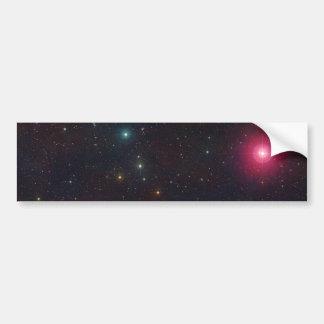 Wide Field View Constellation Cetus Stars Car Bumper Sticker