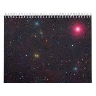 Wide Field View Constellation Cetus Stars Calendar