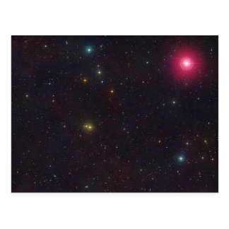 Wide Field View Constellation Cetus Stars Postcard