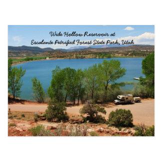 Wide Hollow Reservoir Postcard