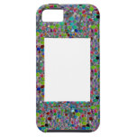 WIDE Jewel FRAME :  DIY add Text Image Customize iPhone 5 Cases
