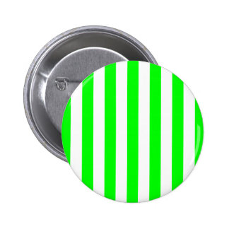 Wide Lime Stripes Button