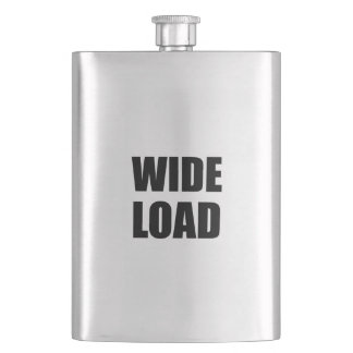 Wide Load Funny Flask