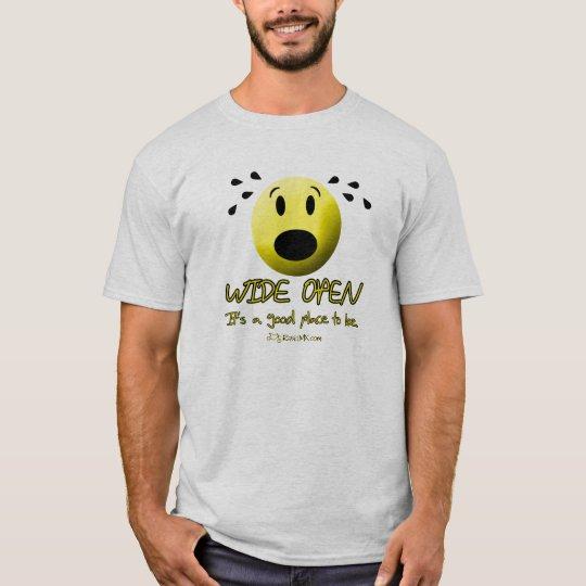 Wide Open Motorcycle TeeShirt T-Shirt