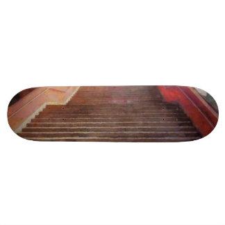 Wide open stairs skateboard