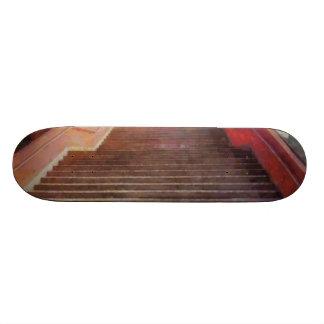 Wide open stairs skateboard deck
