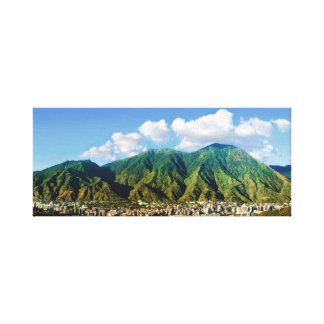 Wide panoramic view of Avila, Caracas, Vzla Canvas Print