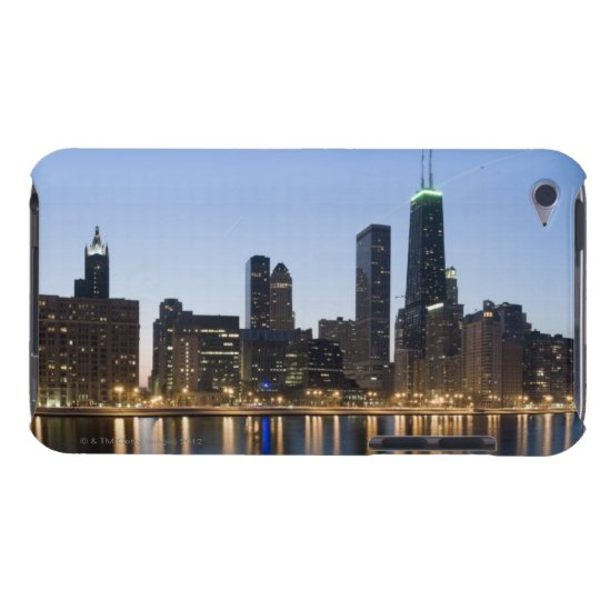 Wide panoramic view of the Chicago lakefront at iPod Touch Case-Mate Case