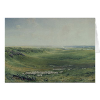 Wide Pastures, Sussex Greeting Card