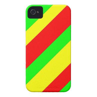 Wide Rasta Stripes iPhone 4 Covers