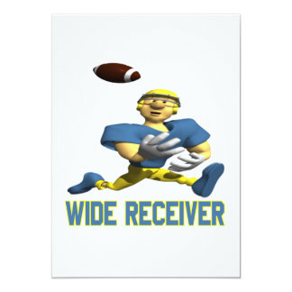 Wide Receiver Card