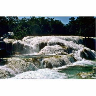 Wide River Waterfalls Photo Cut Out